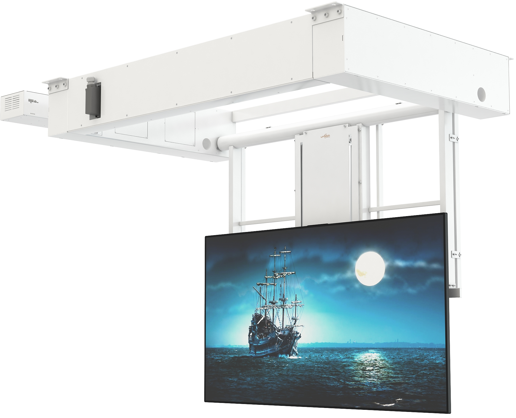 Flat Panel Ceiling Lift Series FPLC V2+LM+LOCK